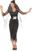 LUCIDA - Spin koningin kostuum voor vrouwen - Volwassenen kostuums - Zwart