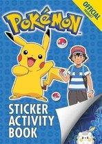 Boek cover The Official Pokemon Sticker Activity Book van Pokémon