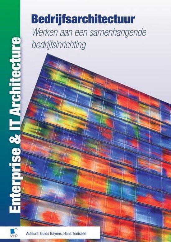 Cover van het boek 'Bedrijfsarchitectuur / druk 1'