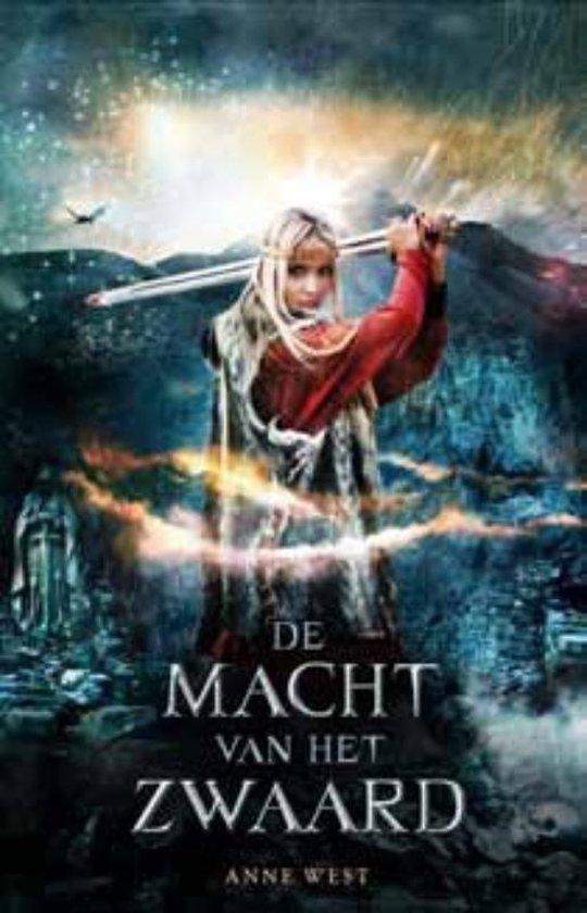 Cover van het boek 'De macht van het zwaard' van Anne West