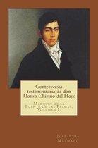 Controversia Testamentaria de Don Alonso Chirino del Hoyo
