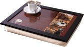 Home & Deco Laptray schootkussen thema koffie