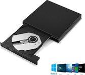 Plug & Play Externe CD/DVD Drive Speler Reader - USB 2.0 CD-Rom Lezer & Brander