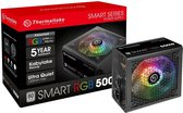 Thermaltake Smart RGB power supply unit 500 W ATX Zwart