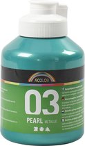 A-color Metallic acrylverf, groen, 03- metallic, 500 ml