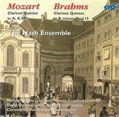 Mozart, Brahms: Clarinet Quintets / Collins, Nash Ensemble