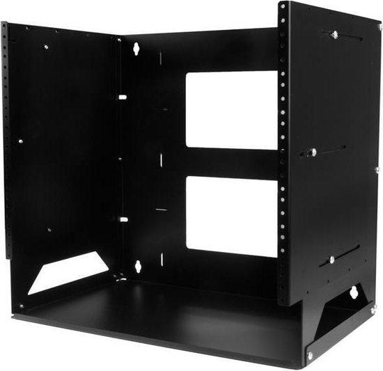 StarTech.com Wand monteerbaar server rack ingebouwd schap wandkast massief staal 8U