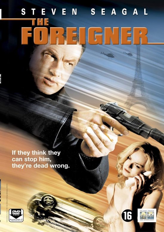 Cover van de film 'Foreigner'