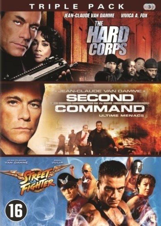 Cover van de film 'Hard Corps/Second In Command/Street Fighter'