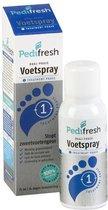 Pedifresh 1 voor zweetvoeten - stopt zweetvoetengeur direct