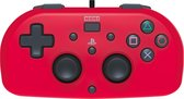 Hori PlayStation 4 Mini Gamepad - Kids Controller - Official Licensed - Rood