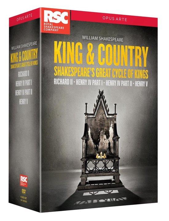 CD cover van Shakespeare W. - King & Country: Shakespea van Royal Shakespeare Company