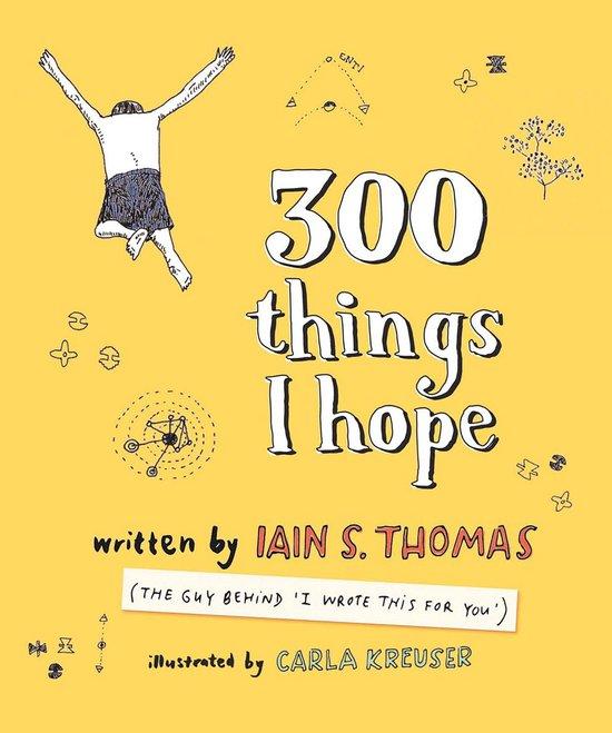 Boek cover 300 Things I Hope van Carla Kreuser (Onbekend)