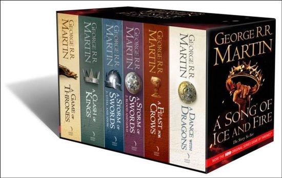 Afbeelding van Game of Thrones Box Set (A-Format 1-5 (6 Vol))