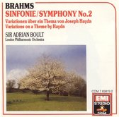 Brahms: Symphony No. 2; Haydn Variations