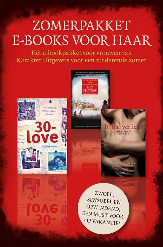 Boek cover Zomerpakket e-books voor haar van Ilse Nelemans (Onbekend)