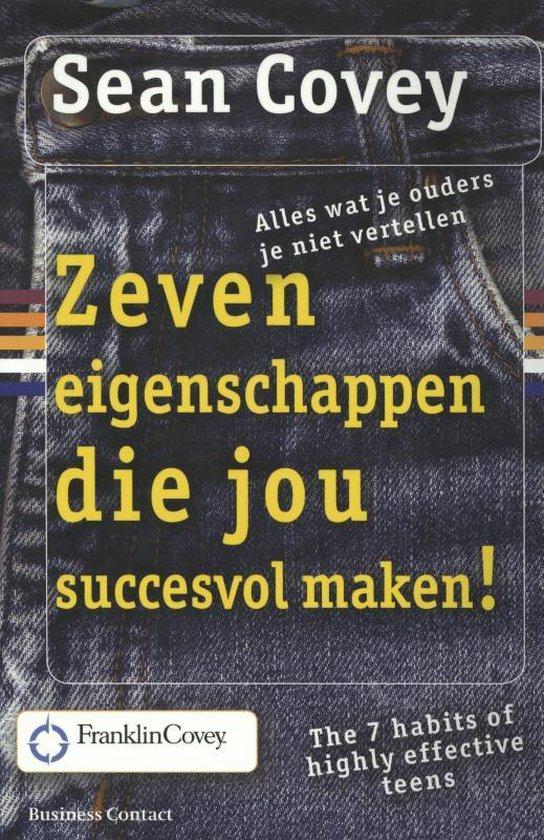 Boek cover Zeven eigenschappen die jou succesvol maken! van Sean Covey (Paperback)