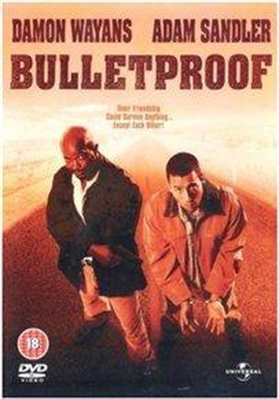 Cover van de film 'Bulletproof'