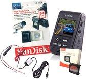 Viofo dashcam A119S, bundel incl. GPS, CPL-filter, Hardwire-kit, Sandisk 64Gb Ultra card èn Nederlandse handleiding