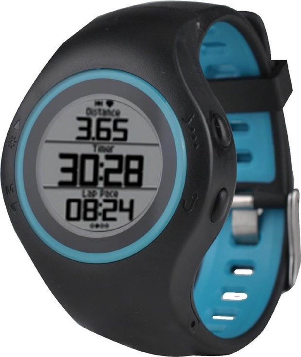 Smartwatch met Stappenteller Billow XSG50PROBL 280 mAh Bluetooth 4.1 GPS Blauw - Billow