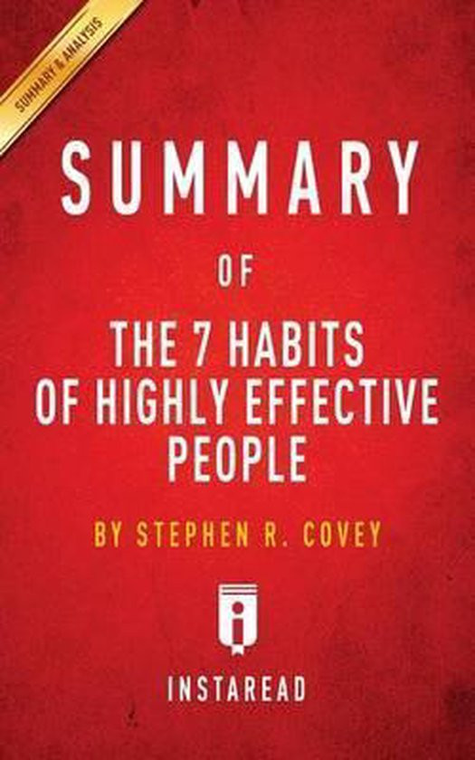 Afbeelding van Summary of the 7 Habits of Highly Effective People