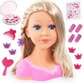 Bayer - Charlene Super Model Kaphoofd - Inclusief Make-up