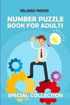 Number Puzzle Book for Adults