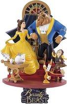 Disney beeld - Beast Kingdom collectie - Beauty & the Beast / Belle & het Beest