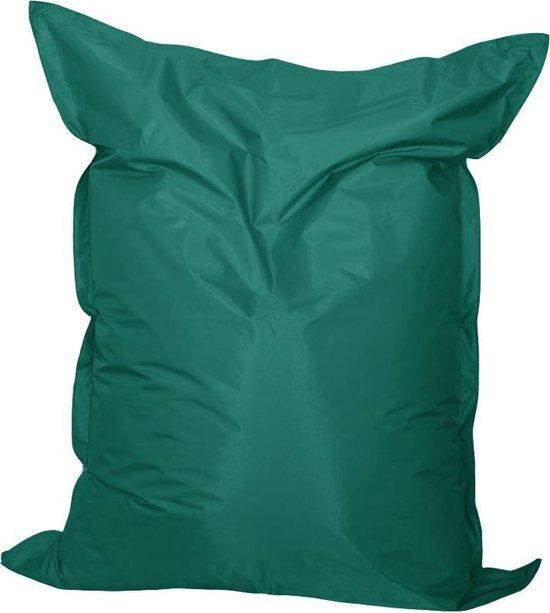 Zitzak Nylon Smaragd maat 140x170 cm