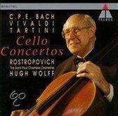 C.P.E. Bach, Vivaldi, Tartini: Cello Concertos