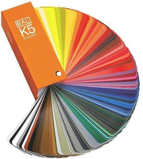 RAL K5 kleurenwaaier gloss