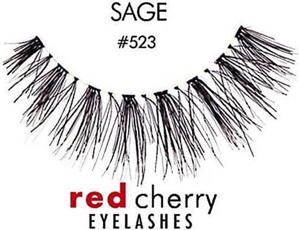 Nepwimpers - Red Cherry Sage - Naturel - Herbruikbaar - LyhnEyes