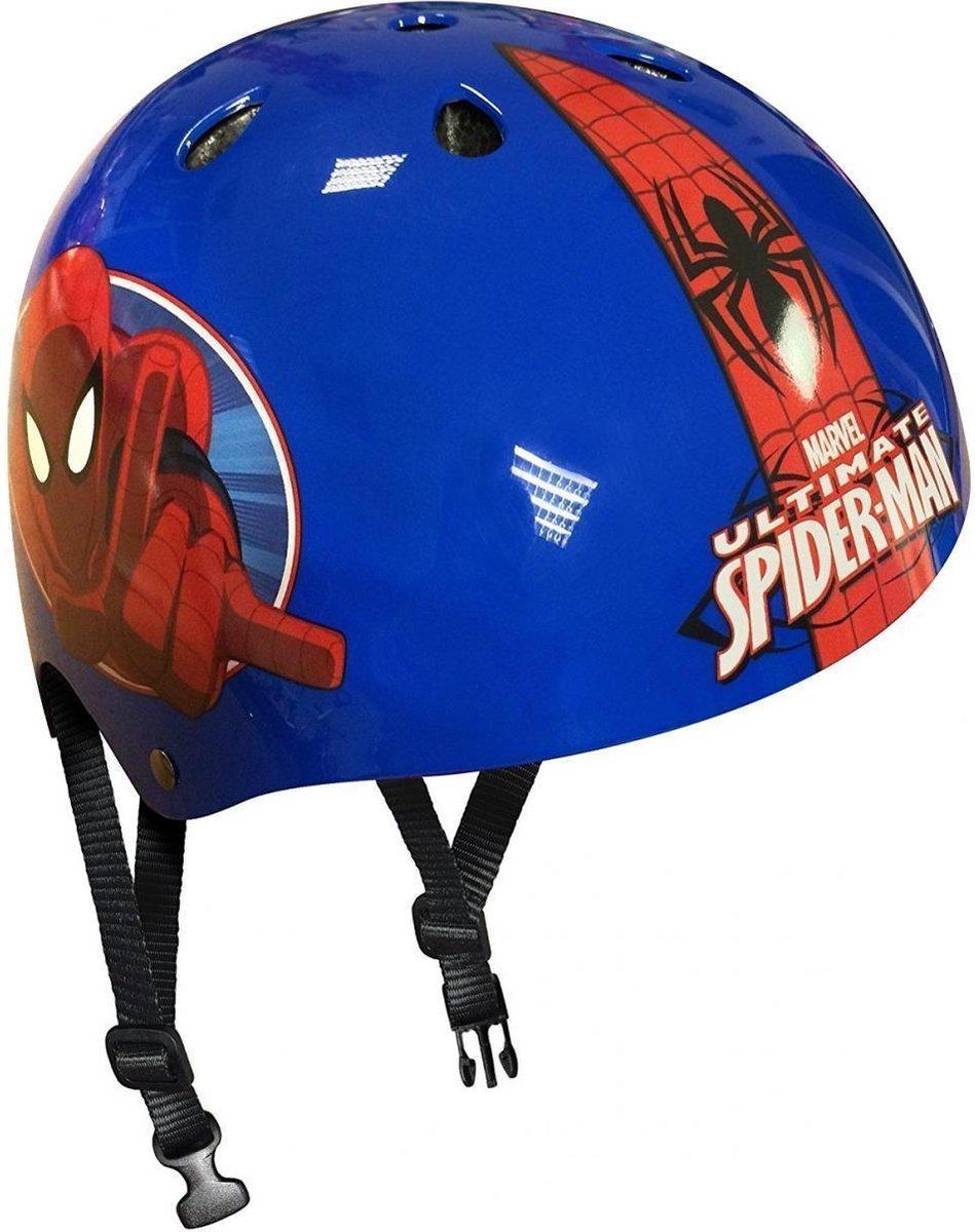 Marvel Skatehelm Spider-man Blauw/rood Maat 54/60 Cm