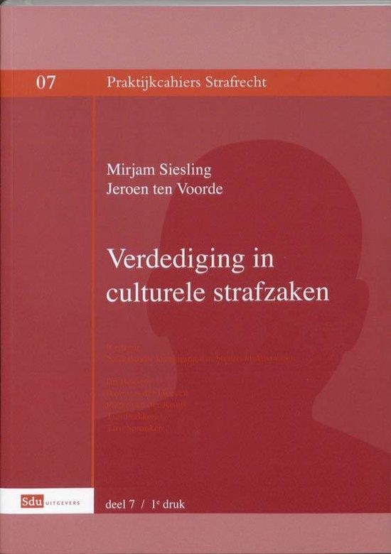 Praktijkcahier Strafrecht 07 - Verdediging in culturele strafzaken - M. Sieseling |