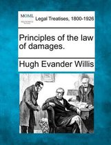 Principles of the Law of Damages.