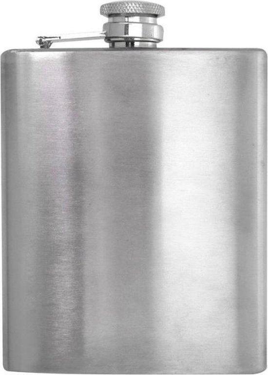 Heupfles 200ml - RVS - Veldfles - Drankflacon