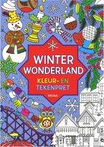 Winter Wonderland kleur -en tekenpret