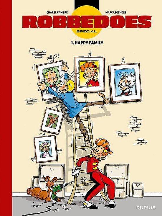 Robbedoes special Lu01. happy family (luxe editie met exlibris) - Marc Legendre |