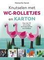 Afbeelding van het spelletje De Fontein Knutselen met wc-rolletjes en karton