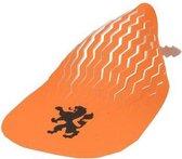 Nederland Hoed Vouwbaar 39 X 19 Cm Oranje