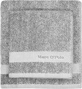 Marc O'Polo Melange  Washandje - 16x22 - Grey/white