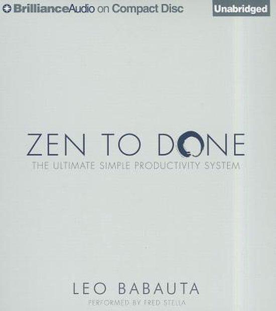 Zen to Done