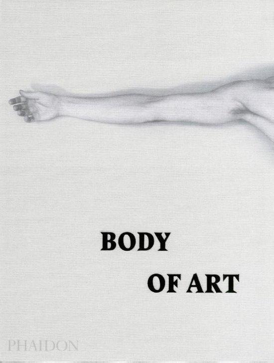 Boek cover Body of Art van Phaidon Editors (Hardcover)