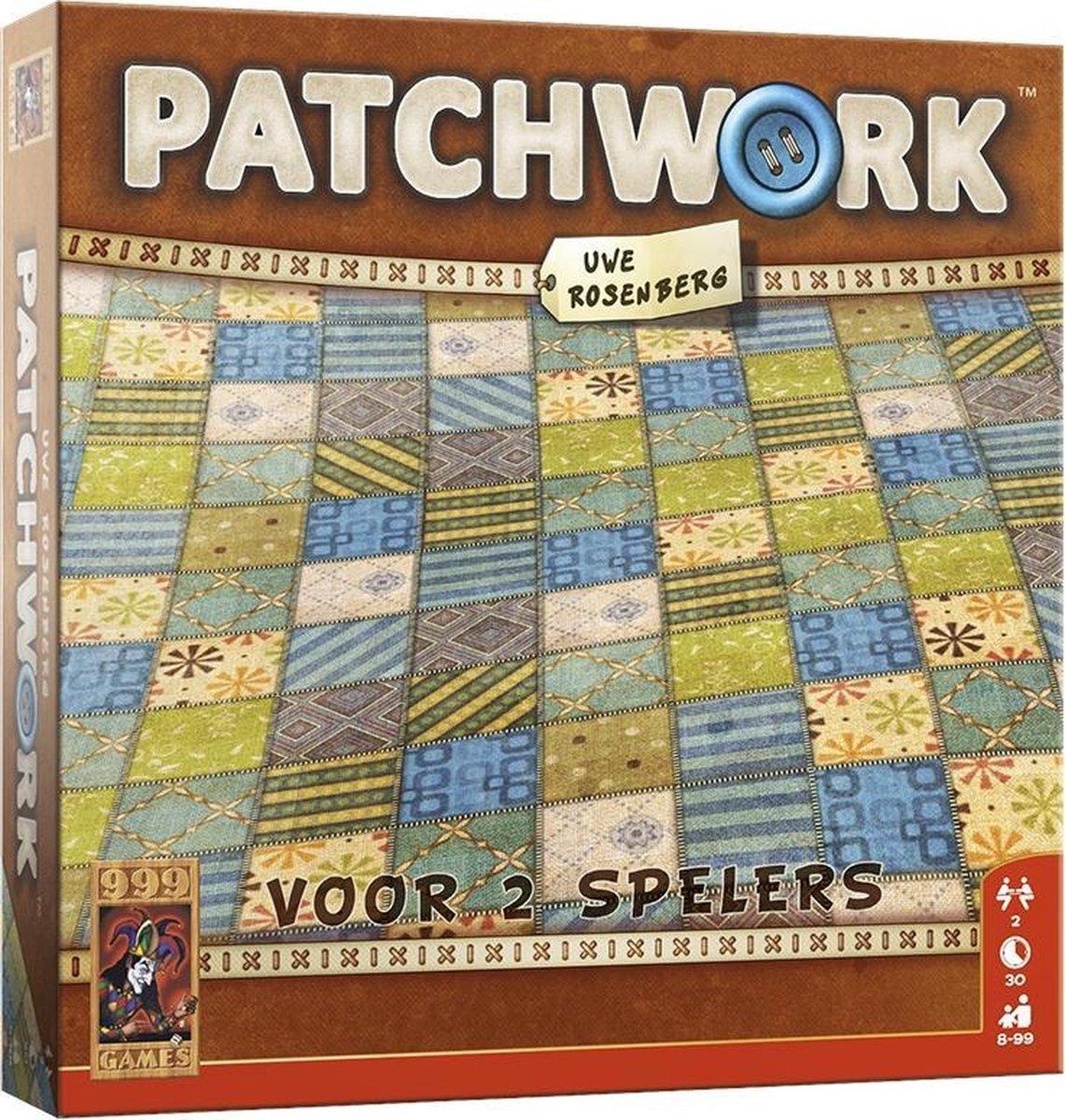 Patchwork - Gezelschapsspel - 999 Games