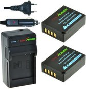 ChiliPower NP-W126 Fuji Kit - Camera Batterij Set