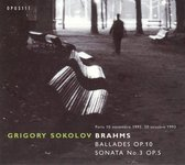 Piano Sonata Op.5 Ballades Op.10