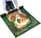 Afbeelding van ComfortTrends Puzzelrol Mat 122 x 76 cm (lxb) - Groen - Ideaal voor het opbergen van puzzels