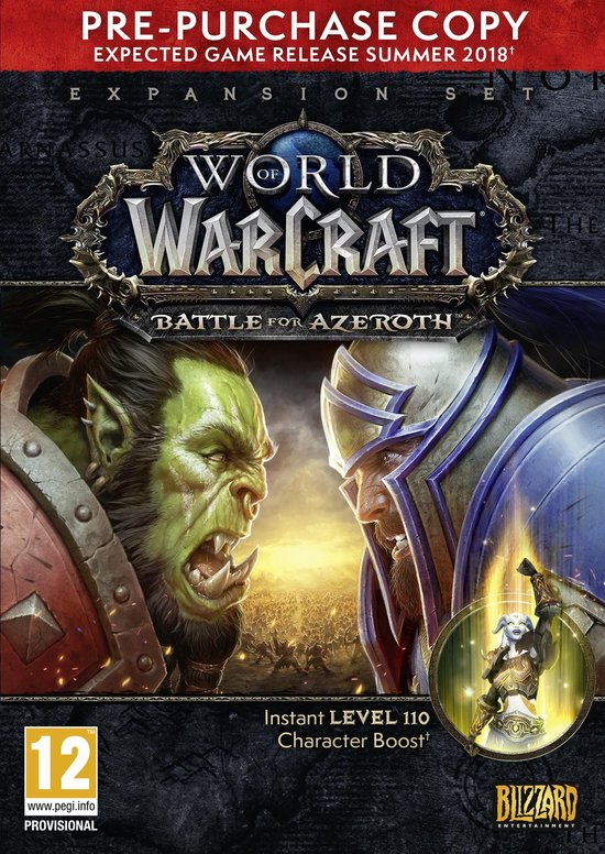 World of Warcraft: Battle for Azeroth (Add-On) PC (Pre-Purchase versie)