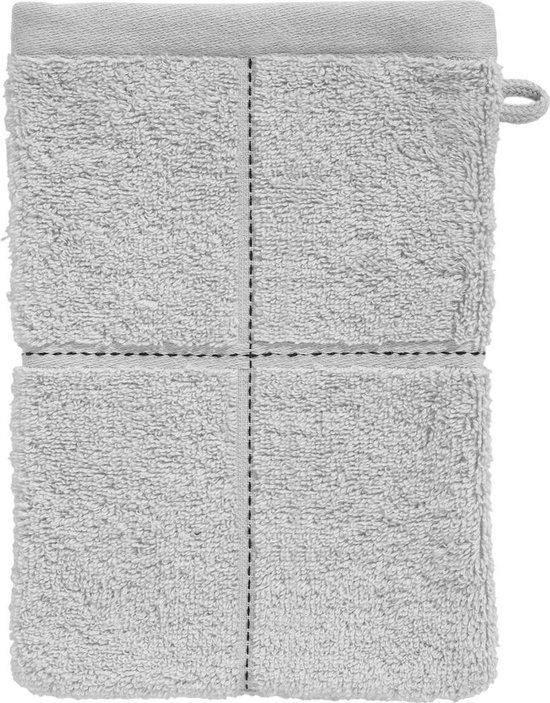 Seahorse combiset Grid washand 16 x 21 cm glacier (per 6 stuks) - Seahorse