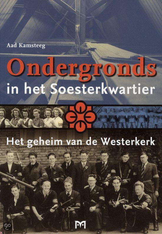 Cover van het boek 'Ondergronds in het Soesterkwartier'